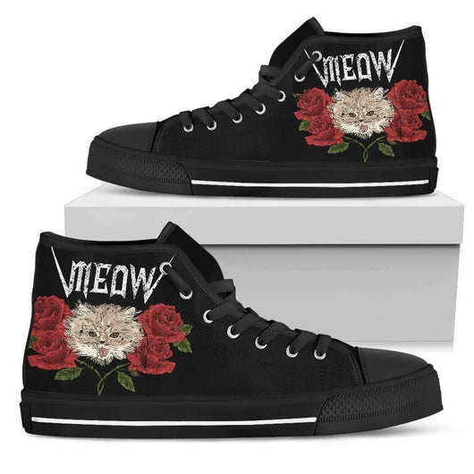 Meow Womens High Top Shoes - STUDIO 11 COUTURE