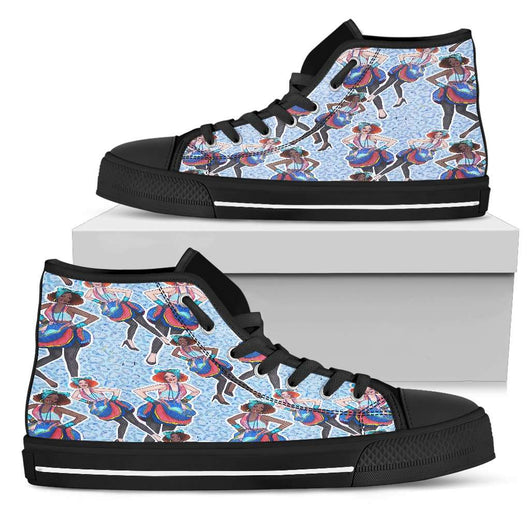 Fashion Retro Girl Womens High Top Shoes