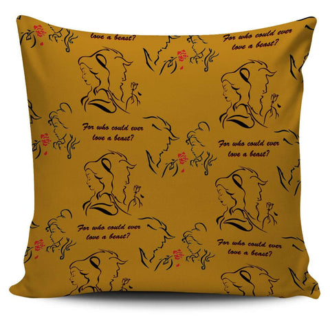 Beauty And The Beast Pillow Case