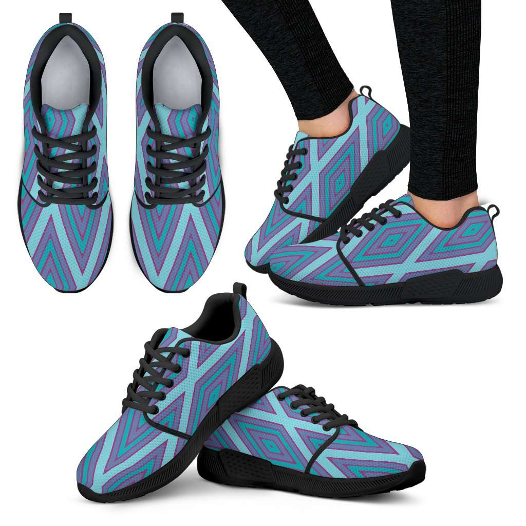 Frozen Diamond Womens Athletic Sneakers