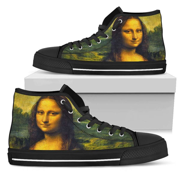 Mona Lisa Smile Womens High Top Shoes - STUDIO 11 COUTURE