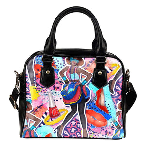 80's 9 Fashion Shoulder Handbag - STUDIO 11 COUTURE