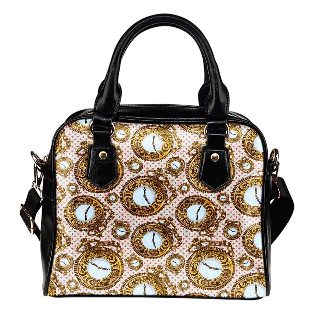 Alice In Wonderland 2 Time Shoulder Handbag - STUDIO 11 COUTURE