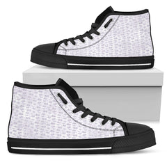 Lady Butterfly Women High Top Shoes