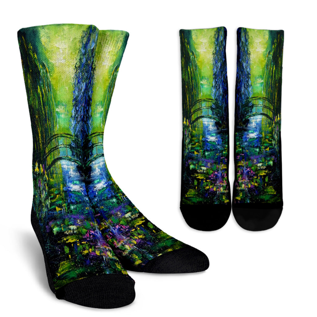 Pol Ledent After Monet Crew Socks