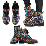 Mermaid Womens Leather Boots - STUDIO 11 COUTURE