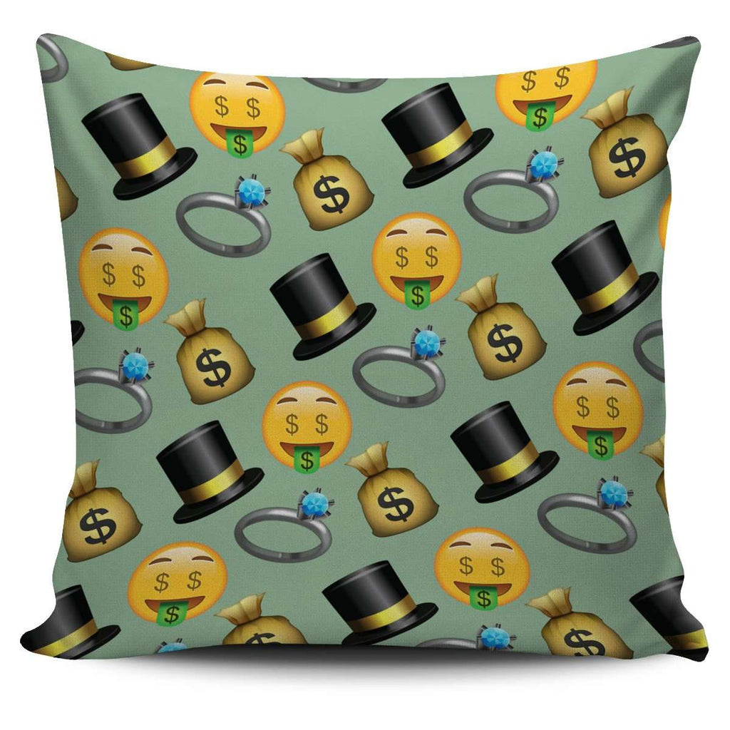 Fun Emojis Pillow Case