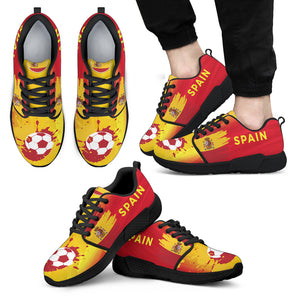2018 FIFA World Cup Spain Mens Athletic Sneakers - STUDIO 11 COUTURE