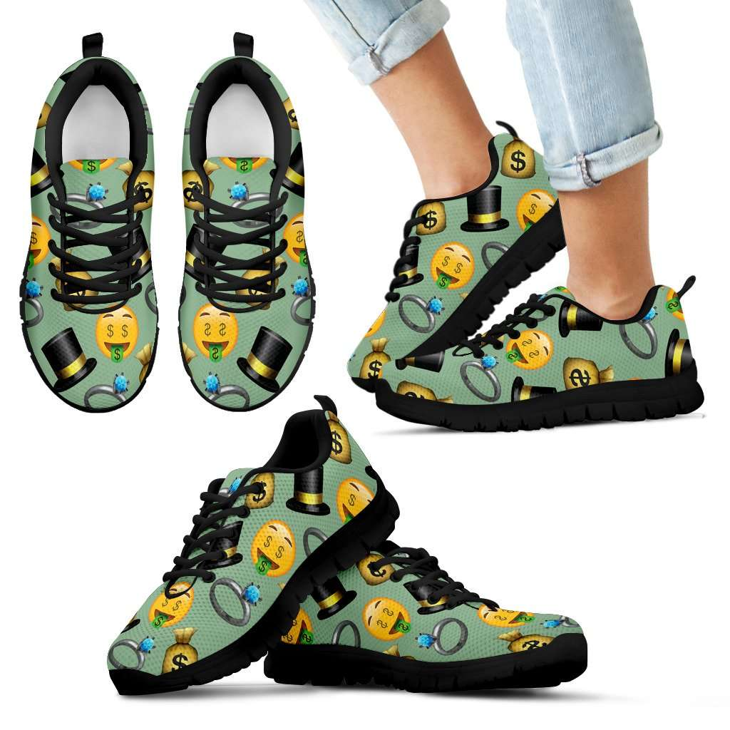 Emoji Money Kids Sneakers