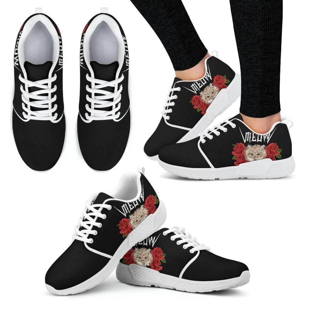 Meow Womens Athletic Sneakers - STUDIO 11 COUTURE