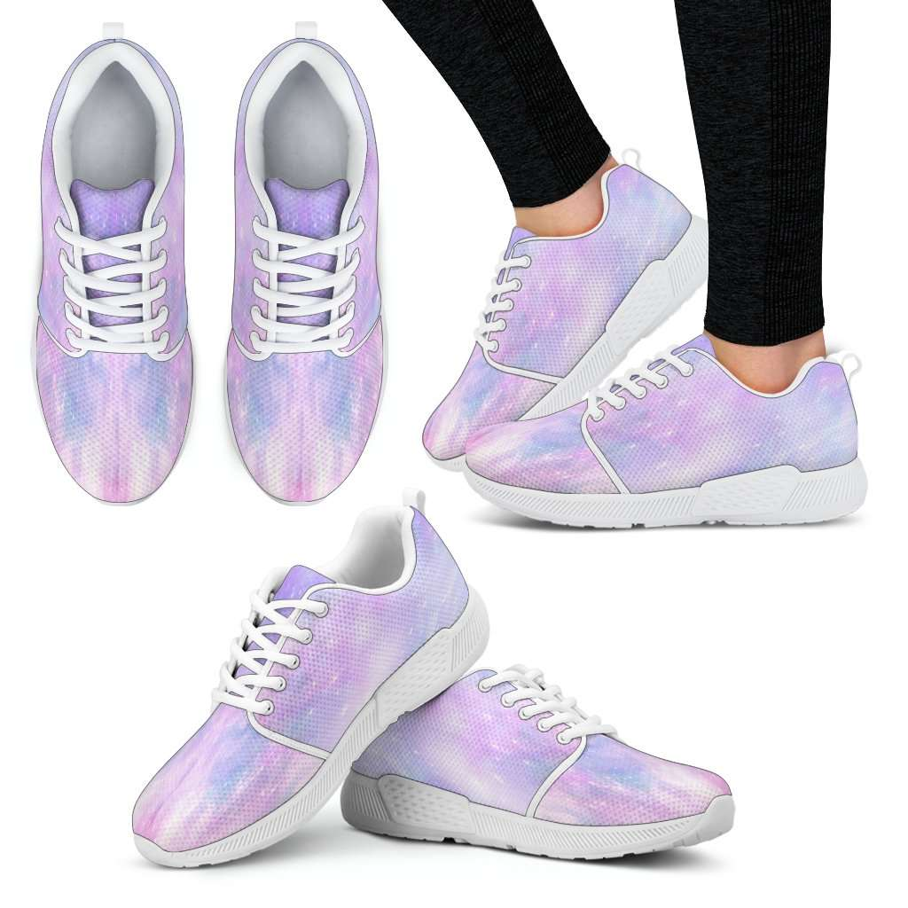 Galaxy Pastel Womens Athletic Sneakers
