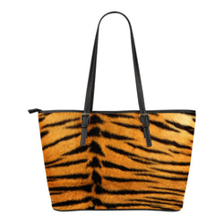 Animal Skin Texture Themed Design C10 Women Small Leather Tote Bag