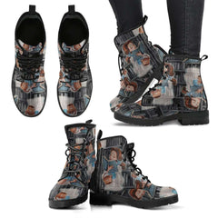 Beauty And The Beast Bell Womens Leather Boots