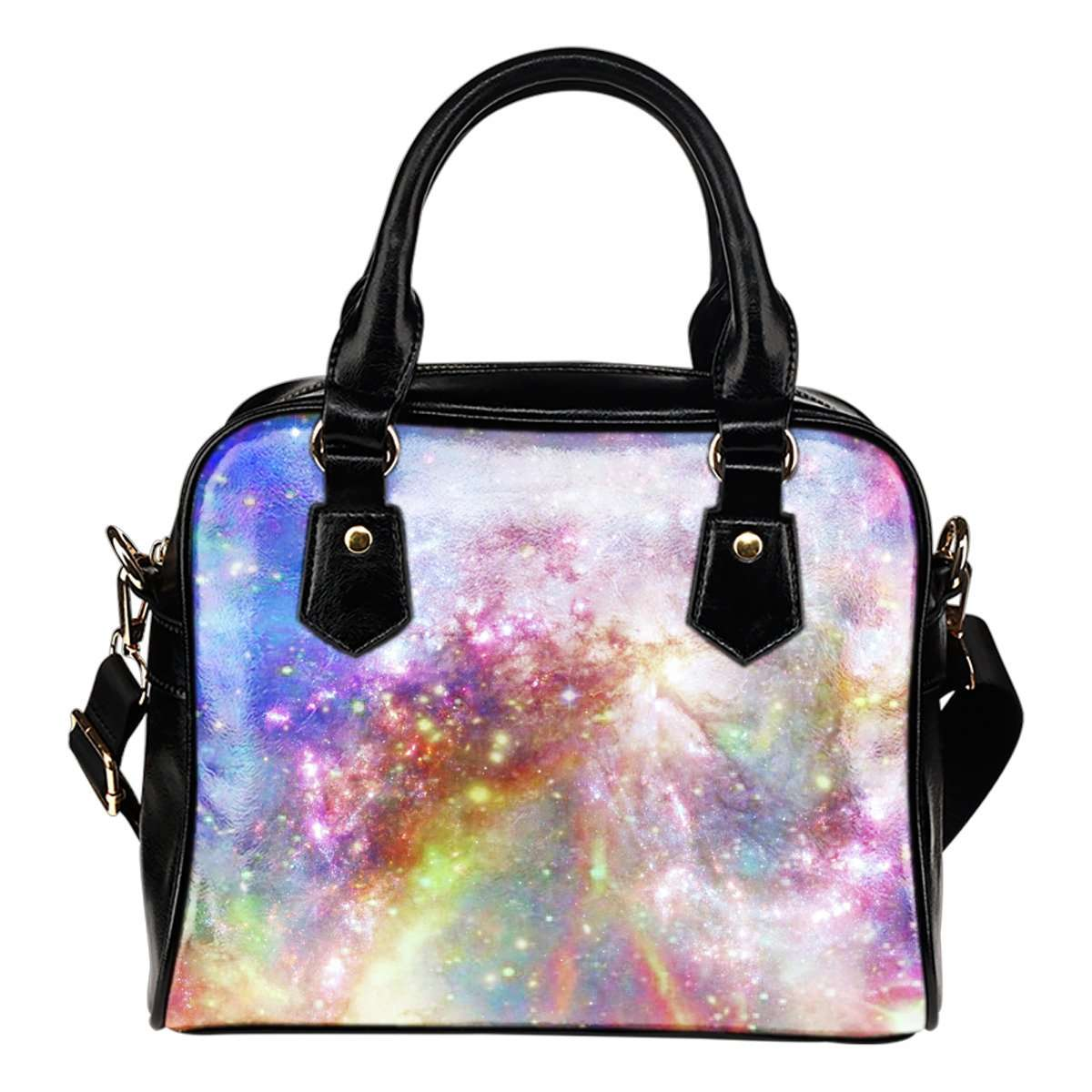 Pastel Galaxy 6 Shoulder Handbag - STUDIO 11 COUTURE