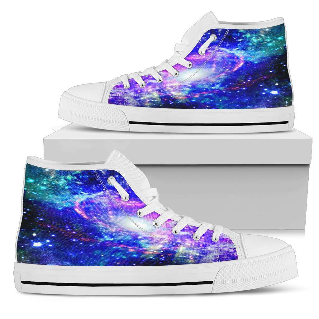 Galaxy Womens High Top Shoes