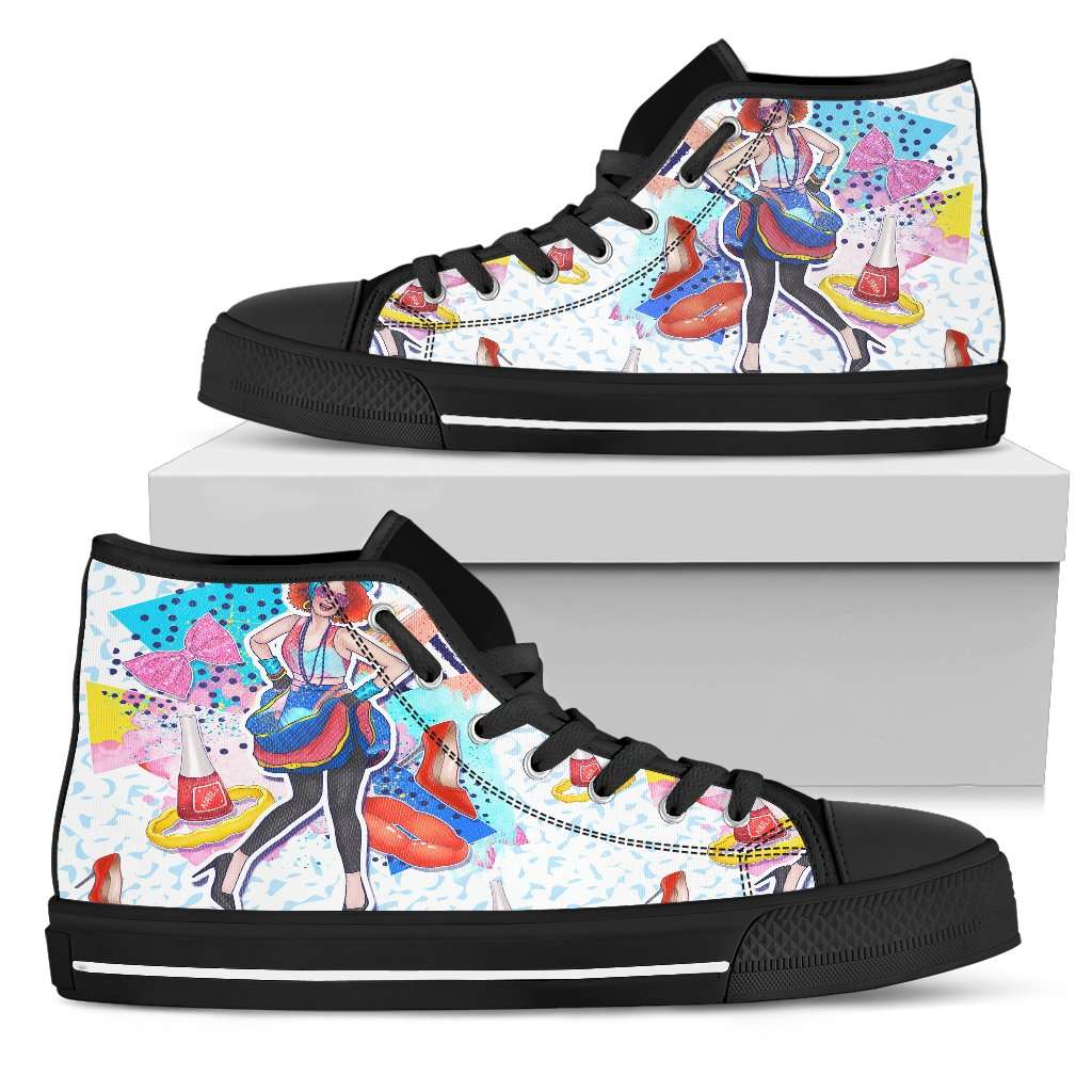 Fashion Girl Trend Womens High Top Shoes