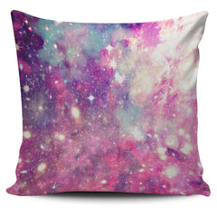 Pastel Kawaii Galaxy Space Pillow Case