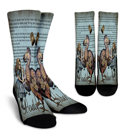Dodo Alice In Wonderland Crew Socks