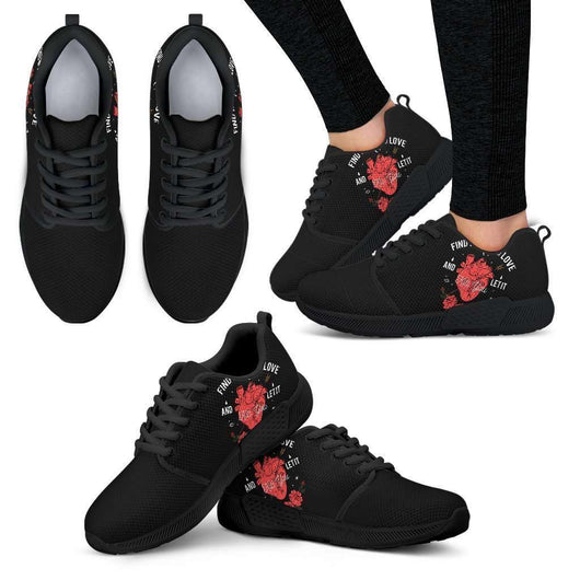 Kill You Womens Athletic Sneakers