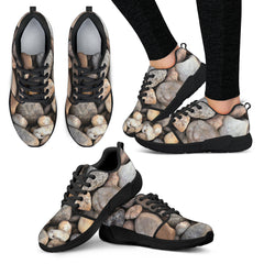 Rocks Nature Women Athletic Sneakers