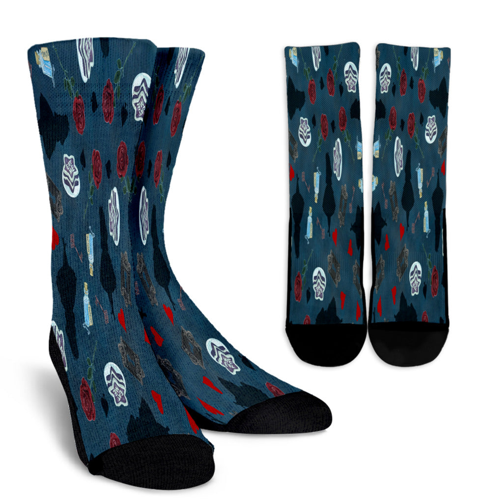 Alice Crew Socks