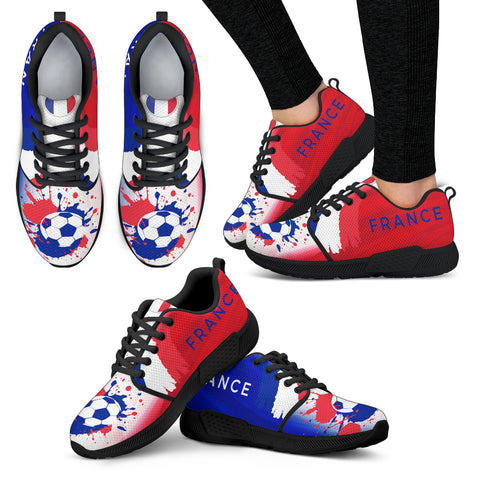 2018 FIFA World Cup France Womens Athletic Sneakers - STUDIO 11 COUTURE