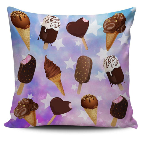 Kawaii Ice Cream Pillow Case