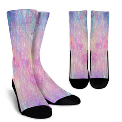 Galaxy Pastel 7 Crew Socks - STUDIO 11 COUTURE