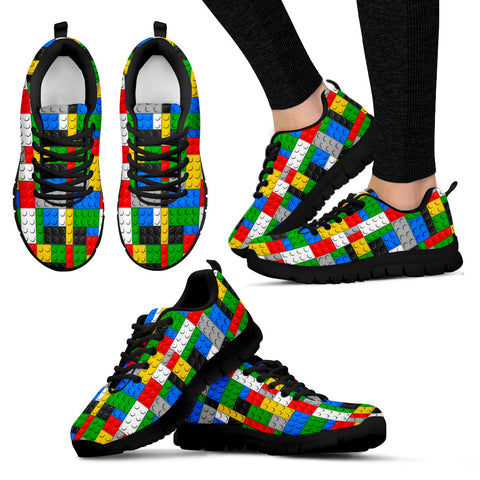 Women's Sneakers Legos Building Block