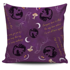 Alice in Wonderland Cheshire Cat Pillow Case - STUDIO 11 COUTURE