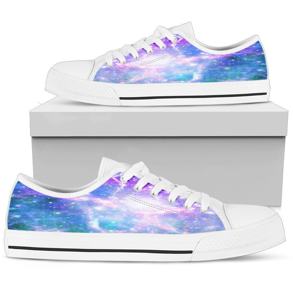 Galaxy Pastel Womens Low Top Shoes