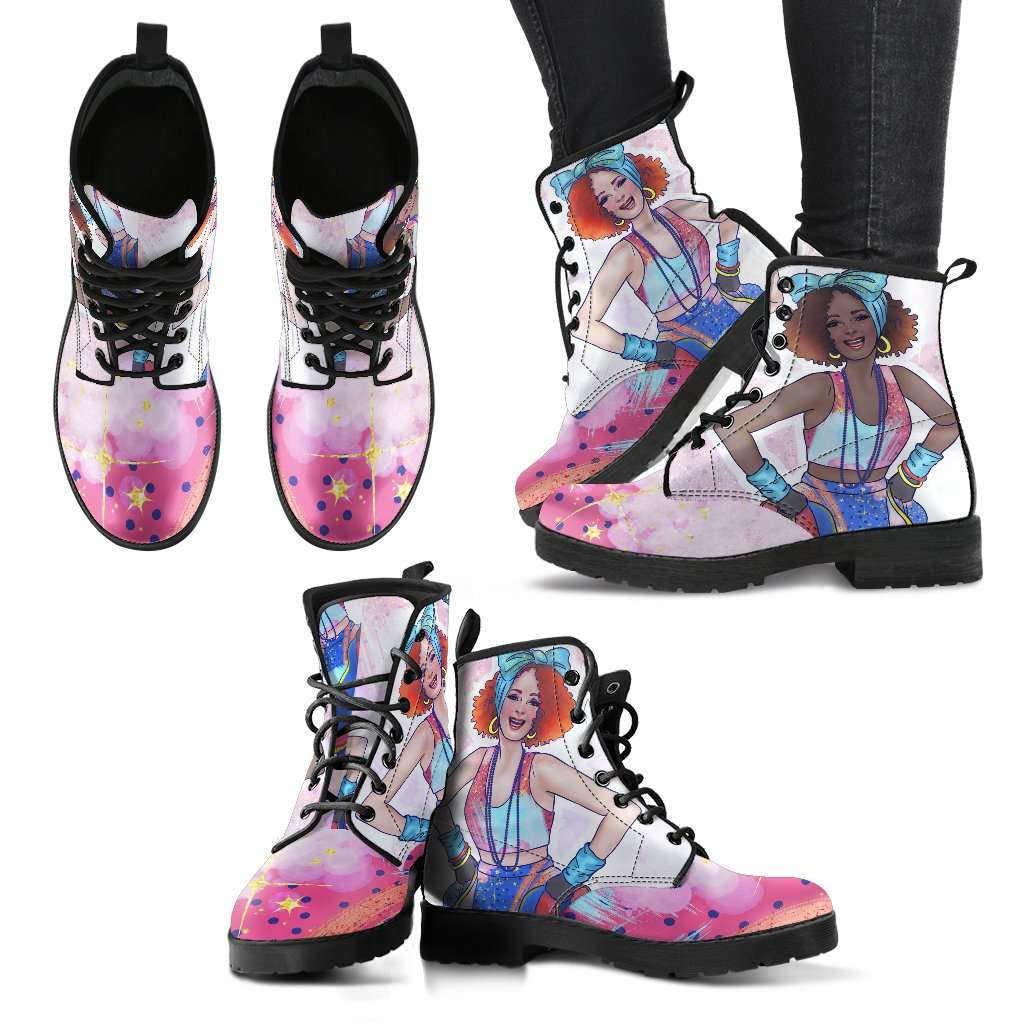 Fashion Girls Womens Leather Boots