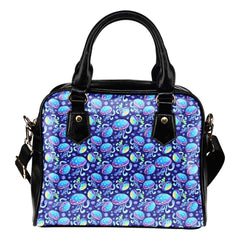Mermaids Jelly Fish Under The Sea Shoulder Handbag