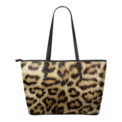 Animal Skin Texture Themed Design C6 Women Small Leather Tote Bag