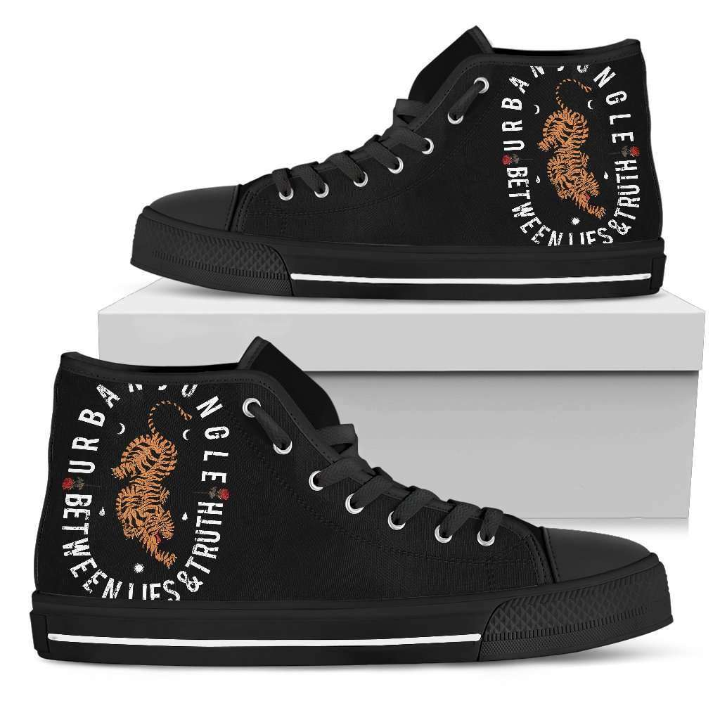 Tiger Womens High Top Shoes - STUDIO 11 COUTURE