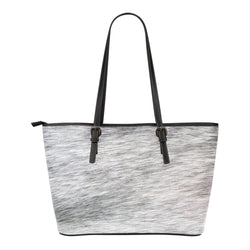 Animal Skin Texture Themed Design C13 Women Small Leather Tote Bag