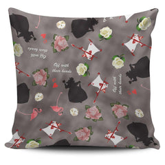 Alice in Wonderland Theme Pillow Case