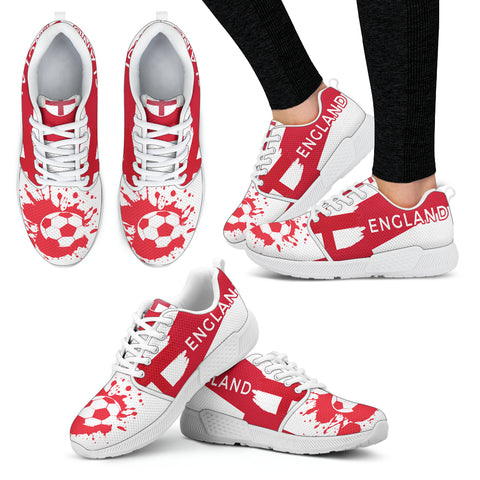 2018 FIFA World Cup England Womens Athletic Sneakers - STUDIO 11 COUTURE