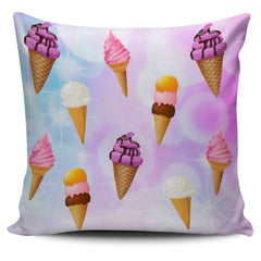 Image of Kawaii Ice Cream Pillow Case