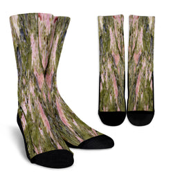 Dirty Algae Marble Tile Crew Socks - STUDIO 11 COUTURE