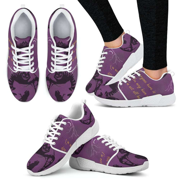 Cheshire Cat Womens Athletic Sneakers