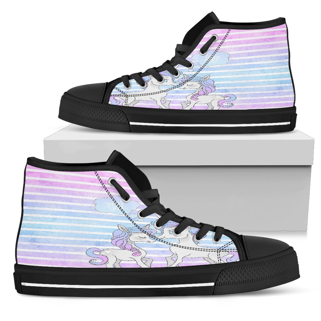 Unicorn Women's High Top Shoes