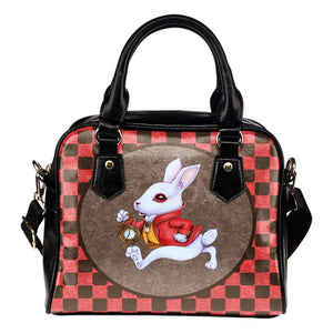 Alice In Wonderland 2 Rabbit Shoulder Handbag - STUDIO 11 COUTURE