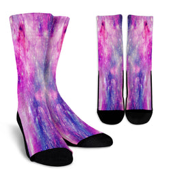 Galaxy Pastel Crew Socks - STUDIO 11 COUTURE