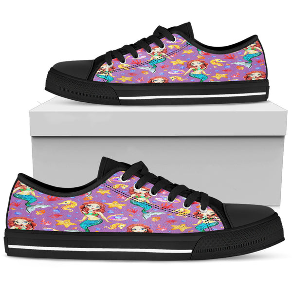 Mermaid Womens Low Top Shoes - STUDIO 11 COUTURE