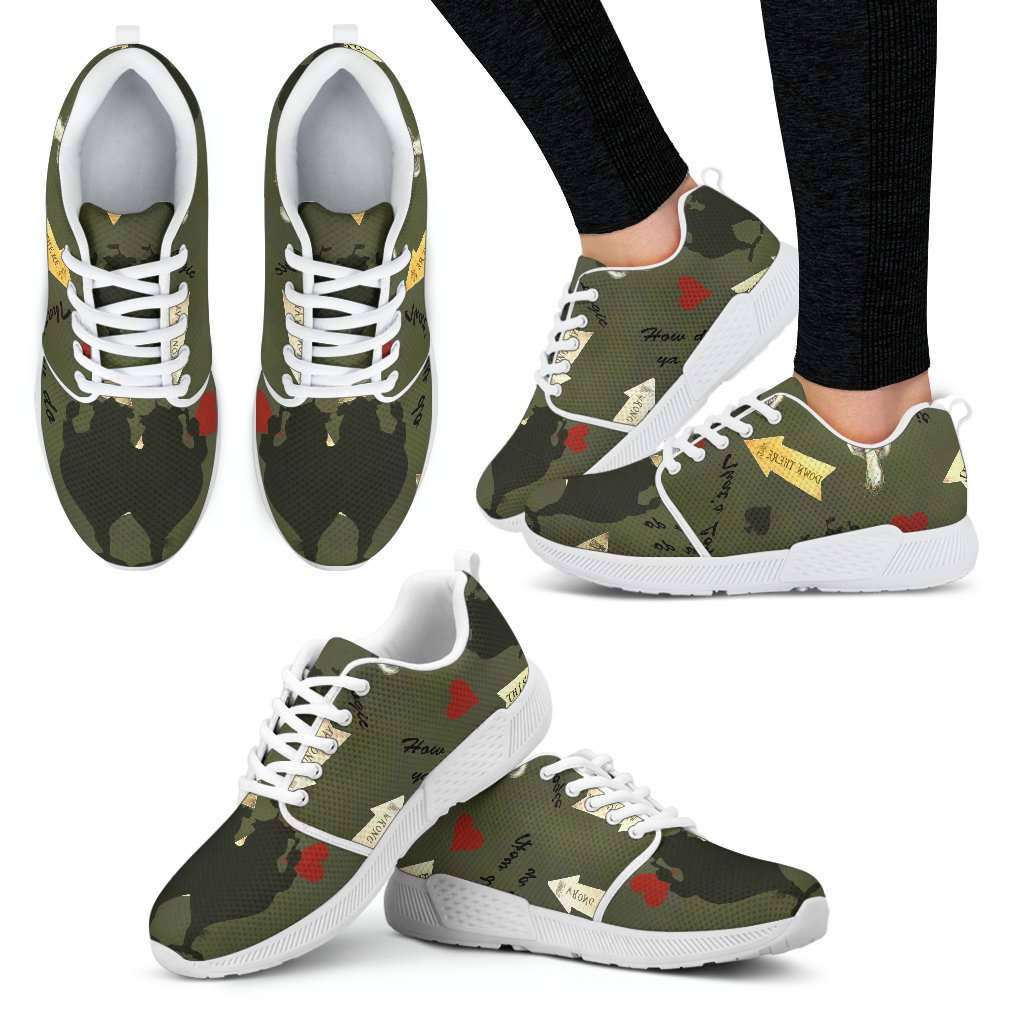 Tweedle Twin Womens Athletic Sneakers - STUDIO 11 COUTURE
