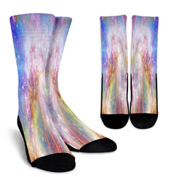 Galaxy Pastel 8 Crew Socks - STUDIO 11 COUTURE