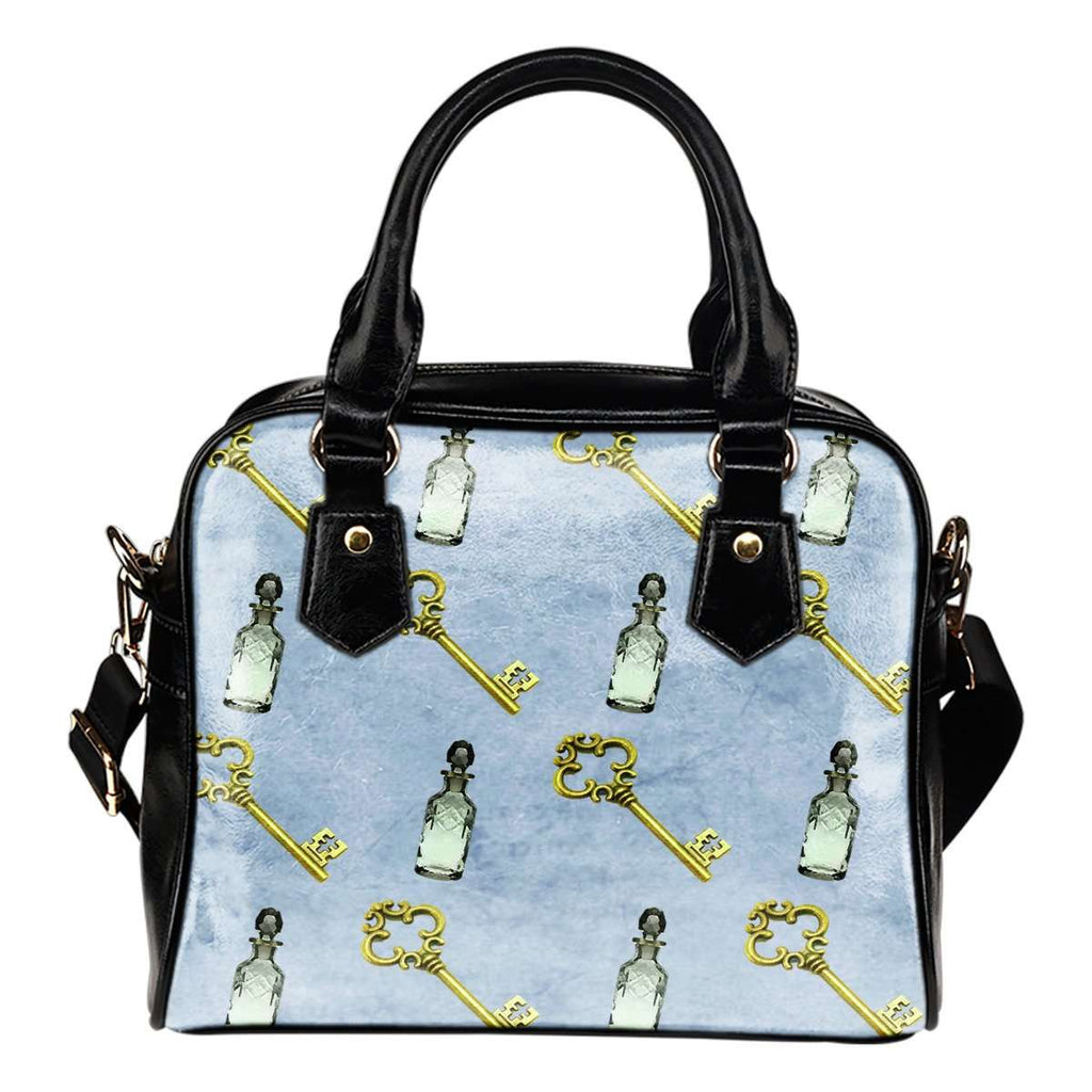 Alice In Wonderland Alice Paper 7 Shoulder Handbag