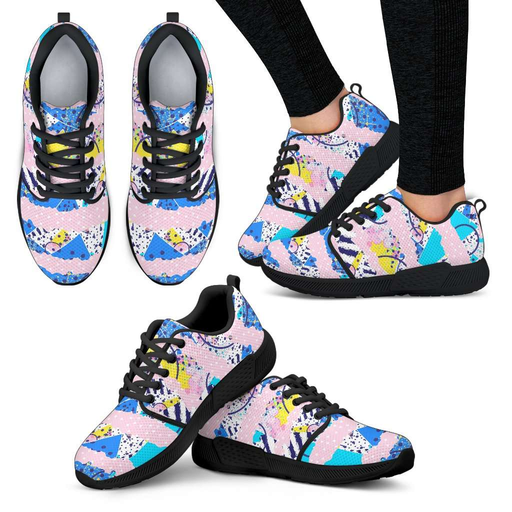Fashion Pink Womens Athletic Sneakers - STUDIO 11 COUTURE
