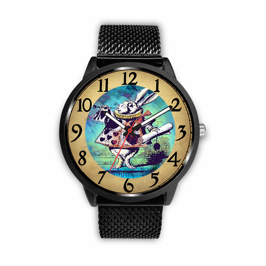 Limited Edition Vintage Inspired Custom Watch Alice Color Clock 2.4 - STUDIO 11 COUTURE